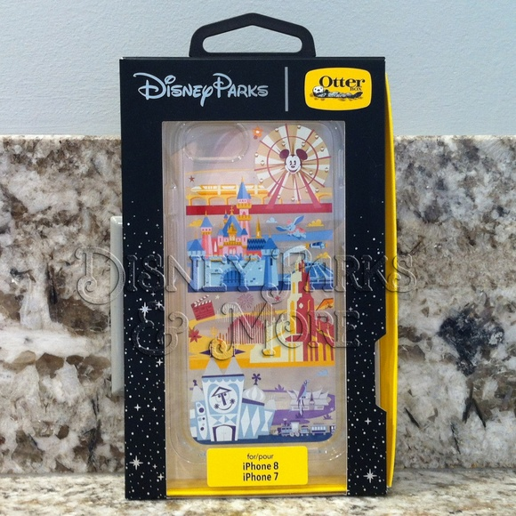 info for 14177 9cfd5 Disneyland Disney OtterBox iPhone 7 & 8 Case NWT